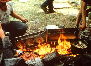Temagami Traditions: Fireplace - Ottertooth.com